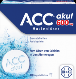 ACC akut 600 Brausetabletten 40 St