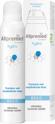 ALLPREMED hydro BASIS Schaum-Creme 200 ml