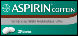 ASPIRIN Coffein Tabletten 20 St
