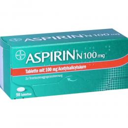 Aspirin N 100mg 98 St Tabletten