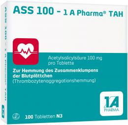 ASS 100 - 1 A Pharma TAH 100 St Tabletten