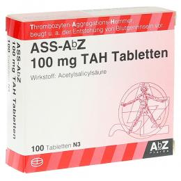 ASS AbZ 100 mg TAH Tabletten 100 St Tabletten