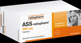 ASS-ratiopharm 300 mg Tabletten 100 St