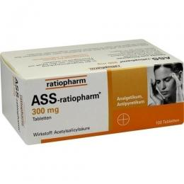 ASS-ratiopharm 300 mg Tabletten 100 St.
