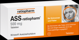 ASS-ratiopharm 500 mg Tabletten 100 St
