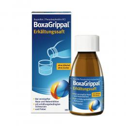 BoxaGrippal Erkältungssaft 180 ml Suspension