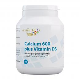 Calcium 600 plus Vitamin D3 Tabletten