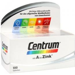 CENTRUM A-Zink Tabletten 100 St.