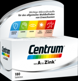 CENTRUM A-Zink Tabletten 180 St