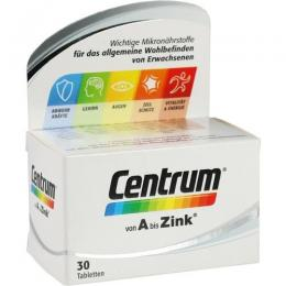 CENTRUM A-Zink Tabletten 30 St.