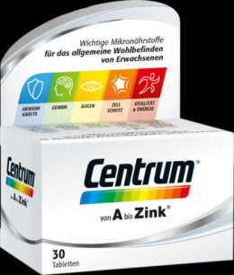 CENTRUM A-Zink Tabletten 37 g