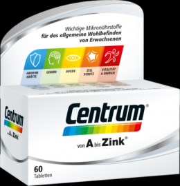 CENTRUM A-Zink Tabletten 60 St