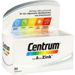 CENTRUM A-Zink Tabletten 60 St.