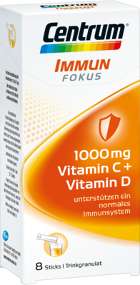 CENTRUM Fokus Immun 1000 mg Vitamin C+D Sticks 8 St
