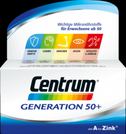 CENTRUM Generation 50+ Tabletten 126 g