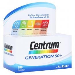 Centrum Generation 50+ Tabletten 180 Stück