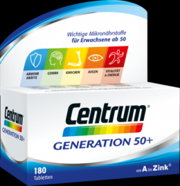 CENTRUM Generation 50+ Tabletten 227 g