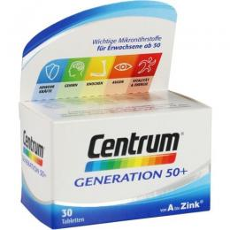CENTRUM Generation 50+ Tabletten 30 St.
