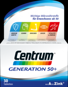 CENTRUM Generation 50+ Tabletten 37 g