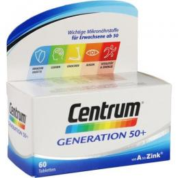 CENTRUM Generation 50+ Tabletten 60 St.
