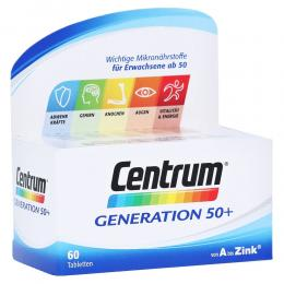 CENTRUM Generation 50+ Tabletten 60 Stück