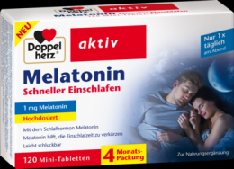 DOPPELHERZ Melatonin Tabletten 120 St