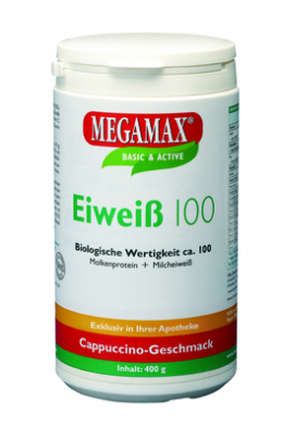 EIWEISS 100 Cappuccino Megamax Pulver 400 g