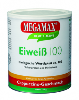 EIWEISS 100 Cappuccino Megamax Pulver 750 g