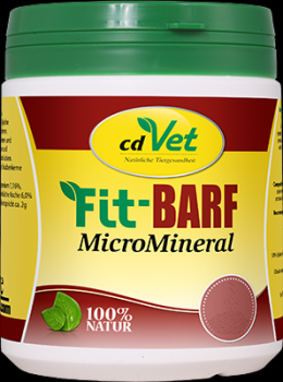 FIT-BARF MicroMineral Pulver f.Hunde/Katzen 500 g
