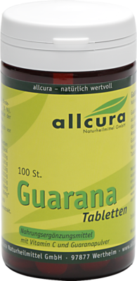 GUARANA TABLETTEN 200 mg Extraktpulver 50 g