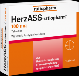 HERZASS-ratiopharm 100 mg Tabletten 100 St