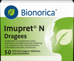 IMUPRET N Dragees 50 St