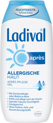 LADIVAL allergische Haut Apres Gel 200 ml