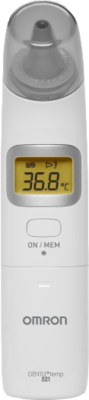 OMRON Gentle Temp 521 digit.Infrarot-Ohrtherm.3in1 1 St