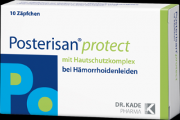 POSTERISAN protect Suppositorien 10 St