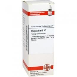 PULSATILLA D 30 Dilution 20 ml