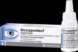 SICCAPROTECT Augentropfen 10 ml