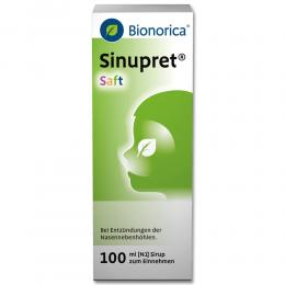 Sinupret Saft 100 ml Sirup