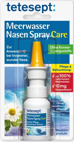 tetesept Meerwasser Nasen Spray Care 20 ml Nasenspray