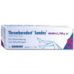 Thrombareduct Sandoz 180000 Gel internationale Einheit 100 g Gel
