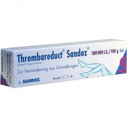 Thrombareduct Sandoz 180000 Gel internationale Einheit 40 g Gel
