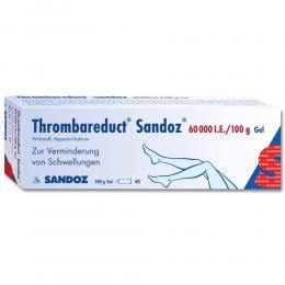 Thrombareduct Sandoz 60000 Gel internationale Einheit 100 g Gel