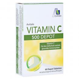VITAMIN C 500 mg Depot Tabletten 60 Stück
